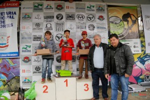 Podium categoria mirim